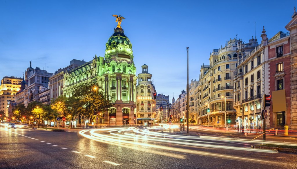 Credits: Madrid by SeanPavone/123RF