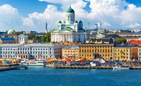 credits. Helsinki by scanrail/can stock photo